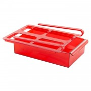 Sertar pentru rafturi frigider-rosu