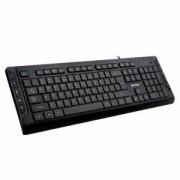 Клавиатура A4tech KD-600L, USB, LED синя подсветка Черна, A4-KEY-KD-600L