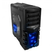 Antec GX505 Window Blue Midi-Tower Black,Blue computer case