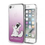 Karl Lagerfeld Choupette Fun iPhone tok (rózsaszín) - 6/6s/7/8