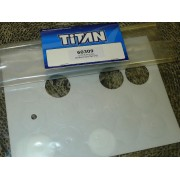 Titan 60309 Body Hole Reinforcement tape Rings. (20)