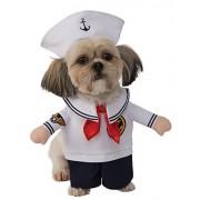 Rubie's Costume 580658-M Co Walking Sailor Pet Costume, Medium