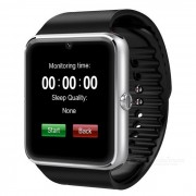 GT08 1.54\ SIM Bluetooth Smart Watch para Android IOS - Plata