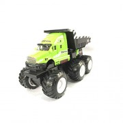 Maisto Builder Zone Quarry Monsters Dump Truck - Green