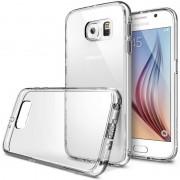 Husa Protectie Spate Ringke Fusion Crystal View plus folie protectie fata si spate pentru Samsung Galaxy S6