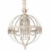 Dekogar Lámpara de techo esfera colgante Rolo