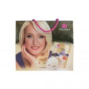 Dermacol Gold Elixir set cadou crema de zi 50 ml + crema de noapte 50 ml + masca de fata 2 x 8 g pentru femei