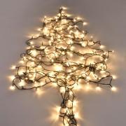 [in.tec]® Vianočná svetelná reťaz HTLD-7706 - teplá biela - 80 LED - 11 m