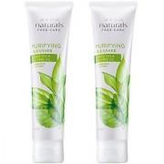 Avon Green Tea Tea Tree Oil Purifying Cleanser (Set Of 2 Of 100 Ml Each) (200 Ml)