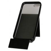 Прозрачен калъф с черна лайсна за Apple iPhone 5