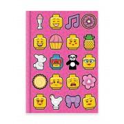 Bullyland LEGO® Iconic Notizbuch (96 Seiten) - A5 liniert
