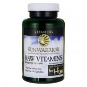SunWarrior - Raw vitaminen voor mannen - 90 capsules