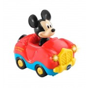 Tut Tut Bólidos de Mickey Disney Descapotable Rojo - Vtech