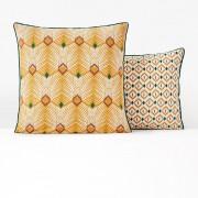 La Redoute Interieurs Fronha de almofada em percal de algodão, SabanaEstampado Amarelo- 50 x 70 cm