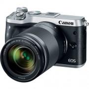 Panasonic CANON EOS M6 + EF-M 18-150mm IS STM - Argento - 2 Anni Di Garanzia
