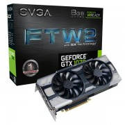EVGA GeForce GTX 1070 FTW2 GAMING, 08G-P4-6676-KR, 8GB GDDR5, iCX - 9 Thermal Sensors & RGB LED G/P/M- Limited Promo Stock