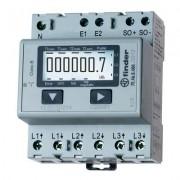 Finder 3 fázisú fogyasztásmérő 3 x 230 V/AC, 0,5-65 A, 7E.46.8.400.0012 (125428)