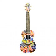HATCHMATIC NFSTRIKE Children Musical Instrument Toy Guitar Ukulele with 4 Strings for Beginner Guitar Kids Early Learning Development Toys: Red