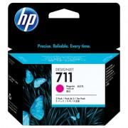 HP 711 magenta inktcartridges, 29 ml, 3-pack