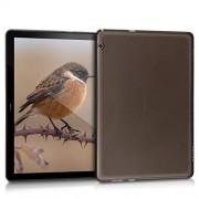 kwmobile Funda Compatible con Huawei MediaPad T5 10 Carcasa para Tablet de Silicona TPU Cover en Negro