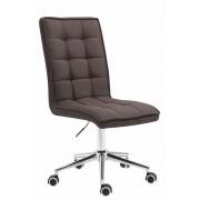Sedia da ufficio PEKING V2 in tessuto, grigio scuro CLP, grigio scuro, altezza seduta