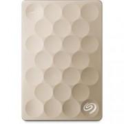 """Твърд диск 1TB Seagate Backup+ Ultra Slim STEH1000201 (златен), външен, 2.5"""" (6.35 cm), USB 3.0"""