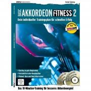 PPV Medien Basic Akkordeon Fitness 2 Detlef Gödicke, Buch, CD, DVD