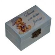 Cutiuta pentru prima suvita sau primul dintisor Baietel Little Angel
