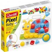 Mosaic Quercetti Pixel Baby Basic, 24 elemente, multicolor