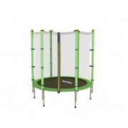 Sportmann Trambulina si Plasa de Siguranta Fun 140 cm - Verde