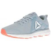 Reebok Women s Hexaffect 5.0 Mtm Running Shoe Gable Grey/Vitamin C/White/Black 9 B(M) US