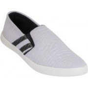 Shoe Mate Mens Grey&Black Casual Shoes Sneakers For Men(White, Black)