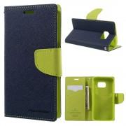 Mercury Pouzdro / kryt pro Samsung Galaxy S7 - Mercury, Fancy Diary Navy/Lime