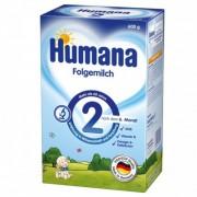 Humana lapte praf 2, de la 6 luni+, 600 g