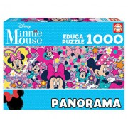 Puzzle Minnie Mouse Panorama, 1000 piese