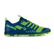 Pantofi Salming OT Comp bărbaţi Poseidon AlBasstru / Siguranță galben