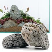 Rocas Galápagos para acuarios - Set 80 cm: 11 rocas, 8 kg aprox.