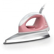 Philips Dry Iron GC102/01 750 W With Indicator Light iron Dry Iron (Pink)