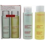 Clarins Dúo Limpiador y Tonificante - Pieles Secas y Normales 2 x 200ml