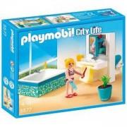 Комплект Плеймобил 5577 - Стилна баня, Playmobil, 291051