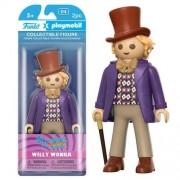 Funko Figura Funko x Playmobil Willy Wonka - Charlie y la fábrica de chocolate