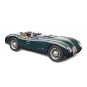 Macheta 1:18 CMC Jaguar C-Type, 1952 British Racing Green