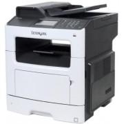 Multifunctional Lexmark MX417DE, laser alb-negru, Fax, A4, 38 ppm, Duplex, RADF, Retea + Antivirus BitDefender Plus 2018, 1 PC, 1 an, Licenta noua, Scratch Card