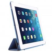 Capa Dobrável Inteligente Four-Fold para iPad 2, iPad 3, iPad 4 - Azul-Bebé