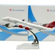 British Boeing 747 16cm Metal Airplane Models Child Birthday Gift Plane Models Home Decoration