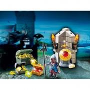 Comoara din Castel si straja ei Playmobil