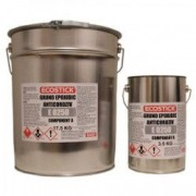 Grund Epoxidic ECOSTICK™ anticoroziv ROSU OXID bicomponent 17 5KG + intaritor 3 5KG