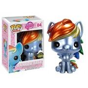 Funko Pop My Little Pony Rainbow Dash Metallic Exclusive Vinyl Figure