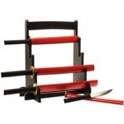 geschenkidee.ch Samurai Küchenmesser Set