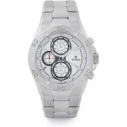 Titan Quartz White Round Men Watch-9308SM01